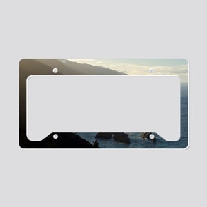 big sur sea mist License Plate Holder