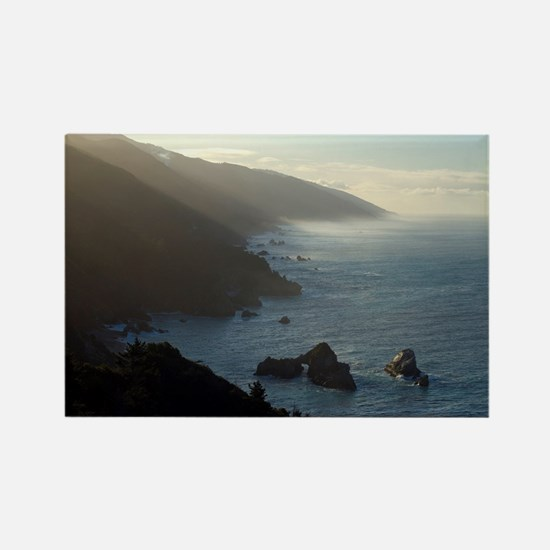 big sur sea mist Rectangle Magnet