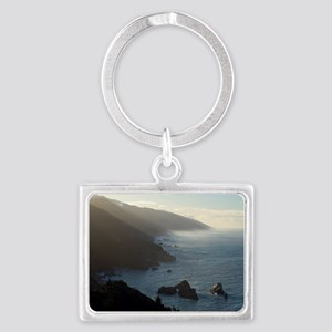 big sur sea mist Landscape Keychain