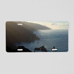 big sur sea mist Aluminum License Plate