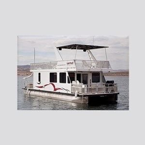 Houseboat, Lake Powell, Arizona,  Rectangle Magnet