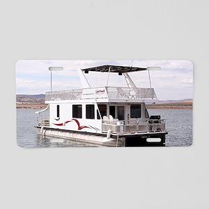 Houseboat, Lake Powell, Ari Aluminum License Plate