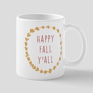 Happy Fall Y'All 11 oz Ceramic Mug