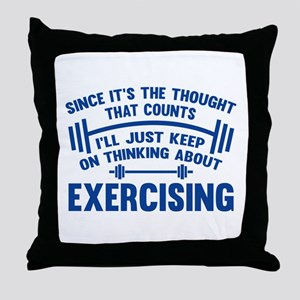 Since It's The Thought That Counts Throw Pillow