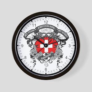 Switzerland Soccer Wall Clock
