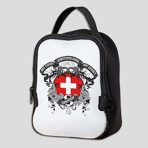Switzerland Soccer Neoprene Lunch Bag