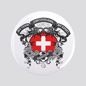 """Switzerland Soccer 3.5"""" Button"""
