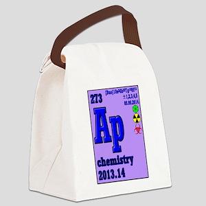 AP Chemistry Exam 2014 Canvas Lunch Bag