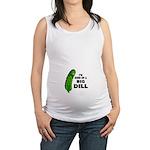 Big Dill Maternity Tank Top