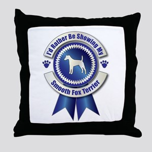 Showing Foxie Throw Pillow