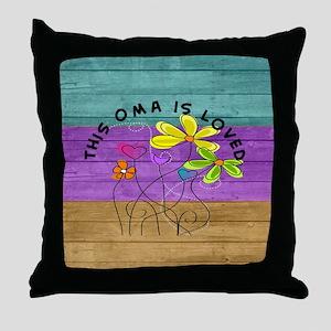 Oma 3 Throw Pillow