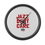 Jazz Dont Care Large Wall Clock