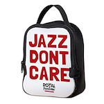 Jazz Dont Care Neoprene Lunch Bag