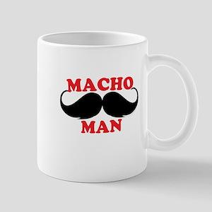Macho Mustache Man Mugs