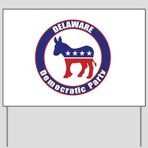 Delaware Democratic Party Original Yard Sign