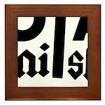 Royal Punisher Logo Framed Tile