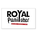 Royal Punisher Logo Sticker