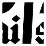 Royal Punisher Logo Square Car Magnet 3