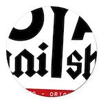 Royal Punisher Logo Round Car Magnet