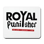 Royal Punisher Logo Mousepad