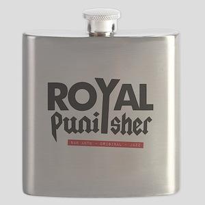 Royal Punisher Logo Flask