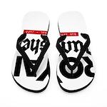 Royal Punisher Logo Flip Flops