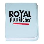Royal Punisher Logo baby blanket