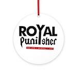 Royal Punisher Logo Ornament (Round)