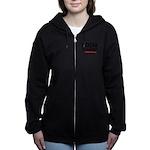 Royal Punisher Logo Women's Zip Hoodie