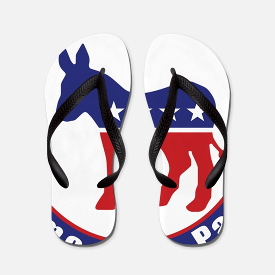 Illinois Democratic Party Original Flip Flops