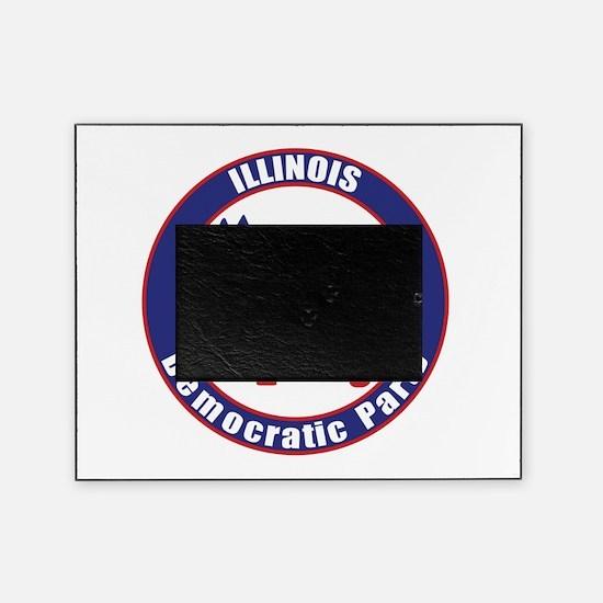 Illinois Democratic Party Original Picture Frame