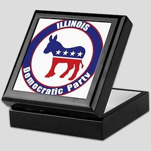 Illinois Democratic Party Original Keepsake Box