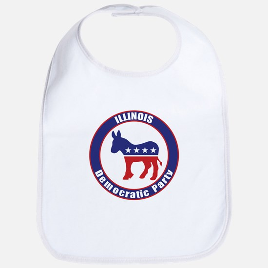 Illinois Democratic Party Original Bib