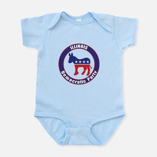 Illinois Democratic Party Original Body Suit