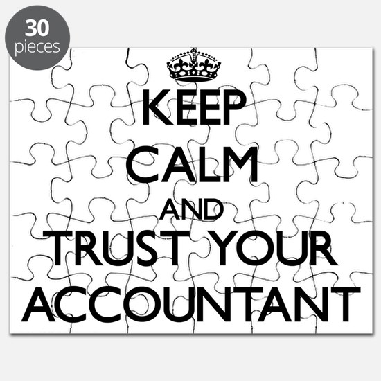 Keep Calm and Trust Your Accountant Puzzle