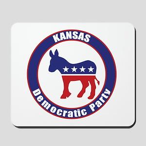Kansas Democratic Party Original Mousepad