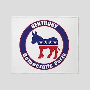 Kentucky Democratic Party Original Throw Blanket