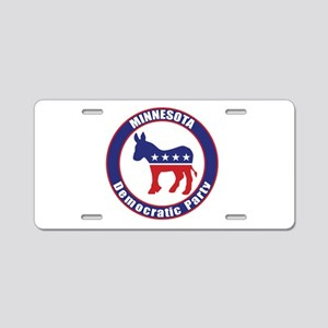 Minnesota Democratic Party Original Aluminum Licen
