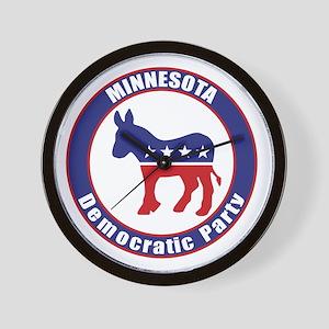Minnesota Democratic Party Original Wall Clock