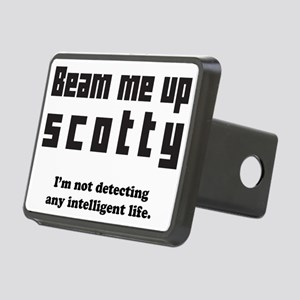 Beam Me Up Rectangular Hitch Cover