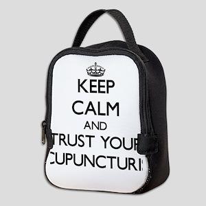 Keep Calm and Trust Your Acupuncturist Neoprene Lu