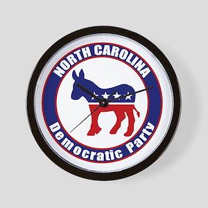 North Carolina Democratic Party Original Wall Cloc