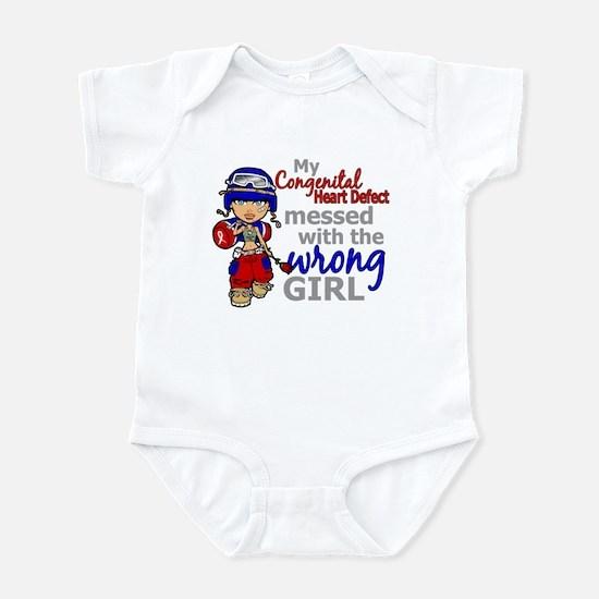 CHD Combat Girl 1 Infant Bodysuit