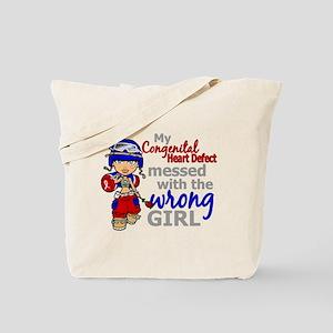 CHD Combat Girl 1 Tote Bag