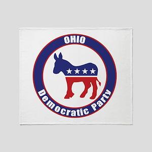 Ohio Democratic Party Original Throw Blanket