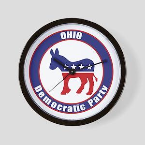 Ohio Democratic Party Original Wall Clock