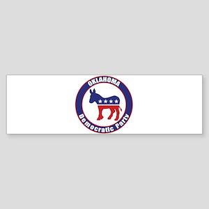 Oklahoma Democratic Party Original Bumper Sticker