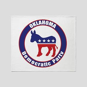 Oklahoma Democratic Party Original Throw Blanket