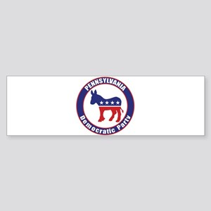 Pennsylvania Democratic Party Original Bumper Stic