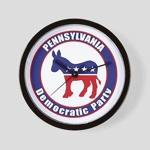 Pennsylvania Democratic Party Original Wall Clock